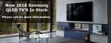 New 2018 Samsung QLED TV'S